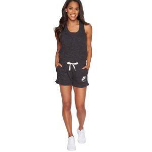Nike Romper, Drawstring tie at waist size L